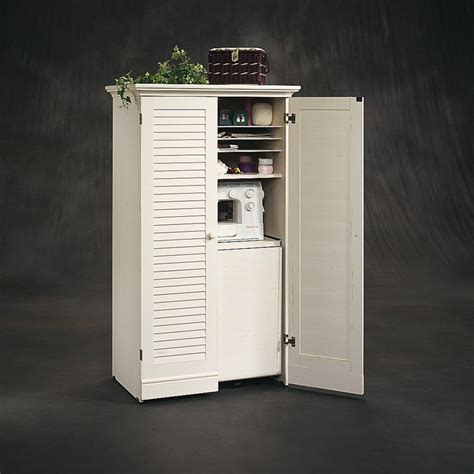 Craft Armoire Furniture by Sauder Harbor View Craft Armoire Sewing Furniture At