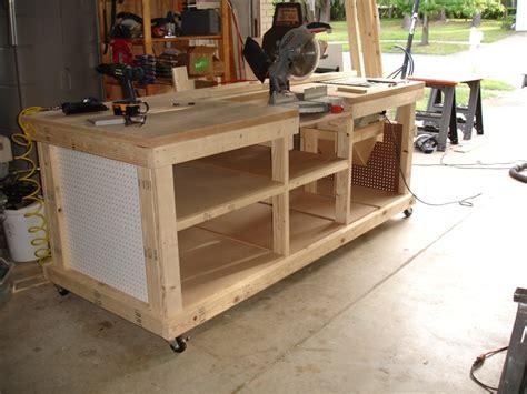 ultimate work bench backyard workshop ultimate workbench