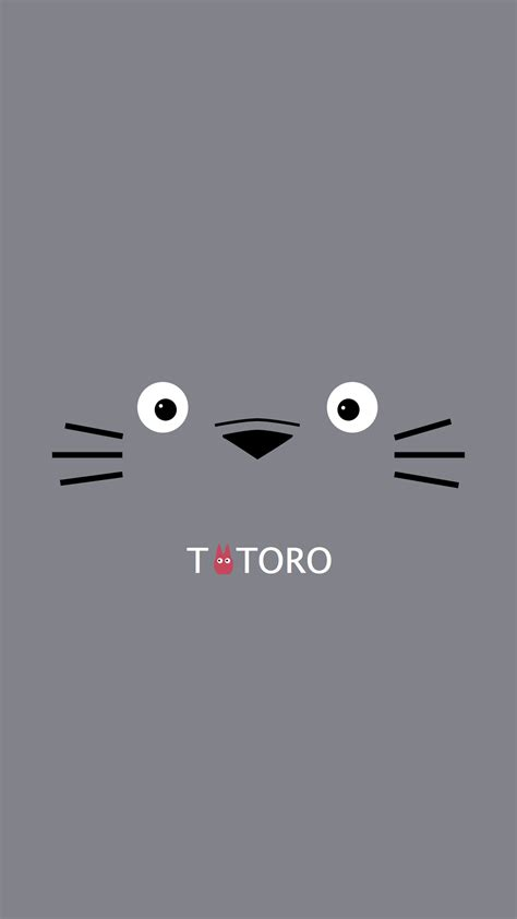 Beautif by Anime Totoro Iphone Wallpaper