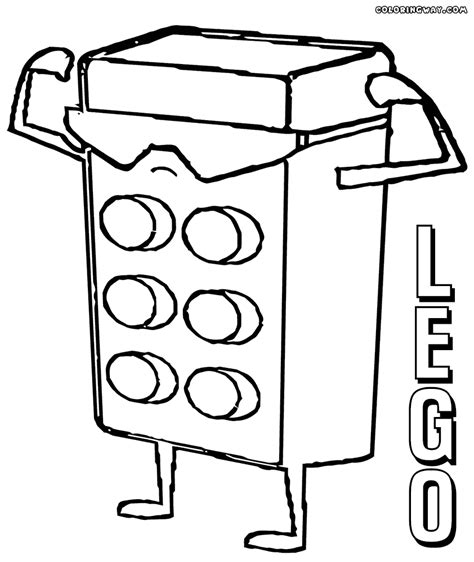 Lego Minifigures Coloring Pages Coloring Pages To Block Coloring Pages
