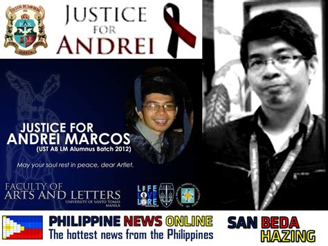 San Beda College Alabang Letterhead another bedan hazing victim dies news from the philippines