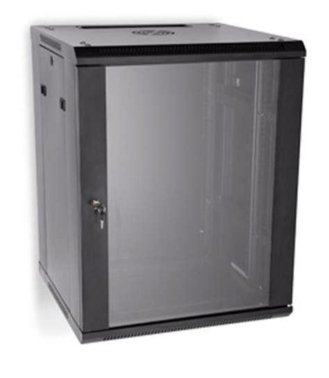 15u Rack by 3140 3 001 15 Linier Wall Mount Cabinet W Glass Door