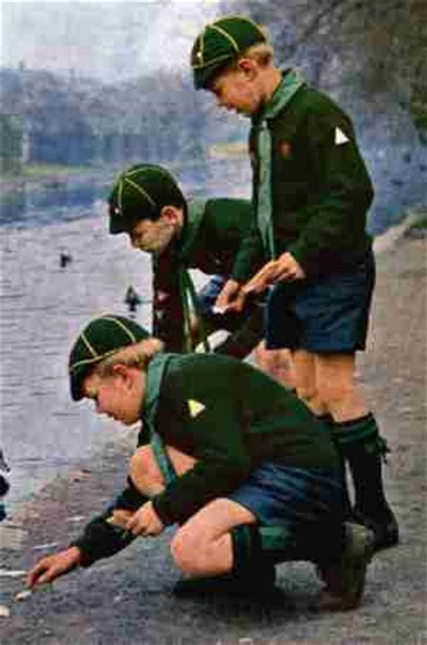 cub scouts 1970 english cub uniforms chronology