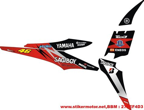 Sticker Striping Motor Stiker Yamaha Jupiter Z1 Manchester Spec A 2 striping modifikasi yamaha jupiter mx stikermotor net