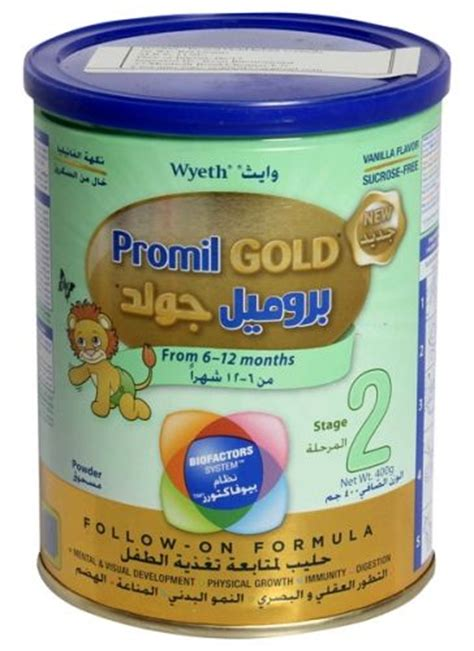 Formula Wyeth Wyeth Promil Gold Infancy Formula Powder 6 12 Months