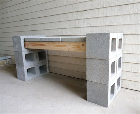 cynder block bench how to build a cinder block bench ask home design