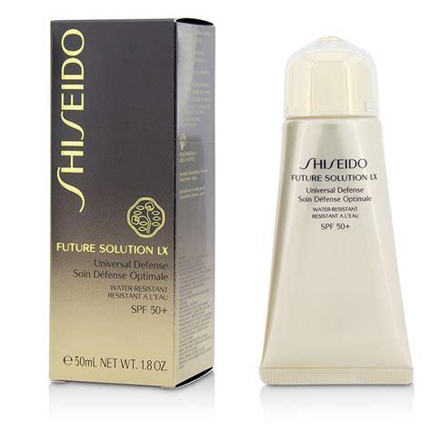 shiseido future solution lx universal defense spf 50 fresh