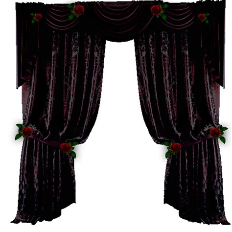 black gothic curtains quot curtain quot by blackmoons32 on deviantart