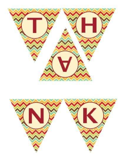 printable banner give thanks give thanks banner holidays pinterest