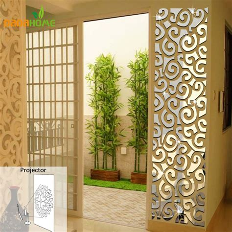 mirrored wall stickers wall qrt waist decoration backdrop mirror wall stickers