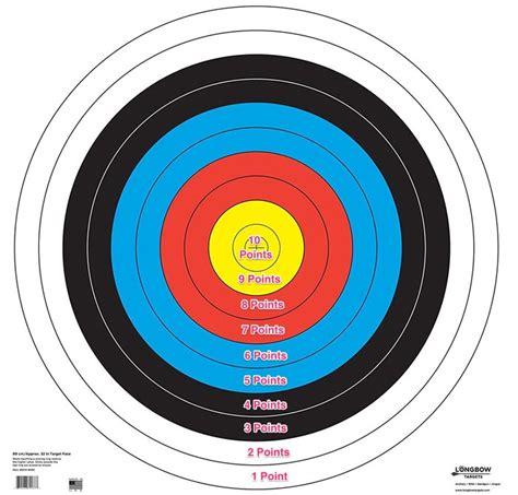 printable vegas targets archery target scoring pictures to pin on pinterest