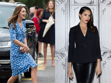 Vs Katee by Meghan Markle Versus Kate Middleton Who Is More Stylish
