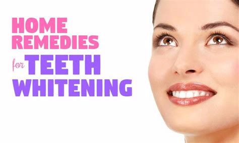 and safe home remedies for teeth whitening