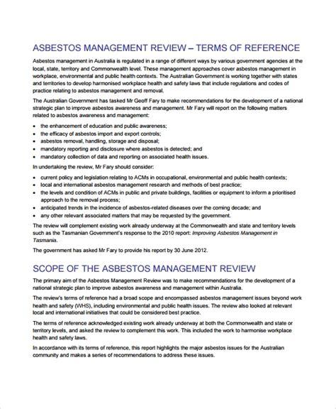 sample management review templates   documents