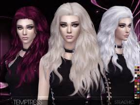 sims 4 hair custom content temptress female hair by stealthic at tsr 187 sims 4 updates