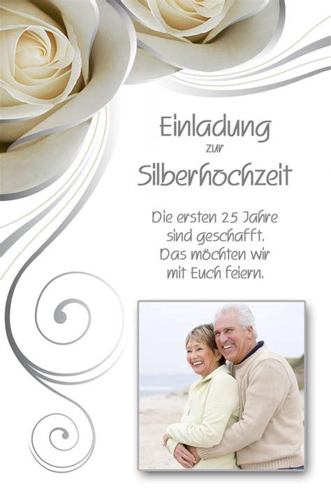 Einladungskarten Silberhochzeit by Einladung Einladungskarten Silberhochzeit Dankeskarten