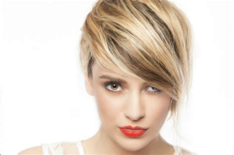 pic of black women side swept bangs and bun hairstyle 9 trendy ways to style short hair how to style short hair