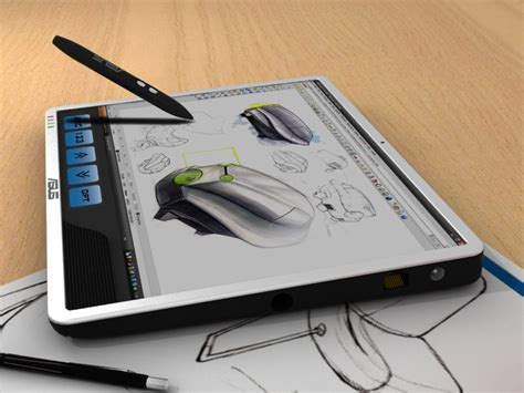 Design Graphics Tablet   asus net fusion the graphic design tablet to beat the