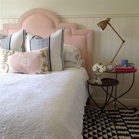 pink upholstered headboard decor pad blush pink upholstered headboard and details home deco v pink