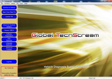 toyota global toyota global techstream v12 00 124 latest software 2017