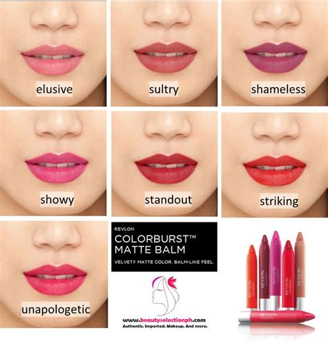 Lipstik Revlon Matte Balm shop selection by aliza revlon colorburst