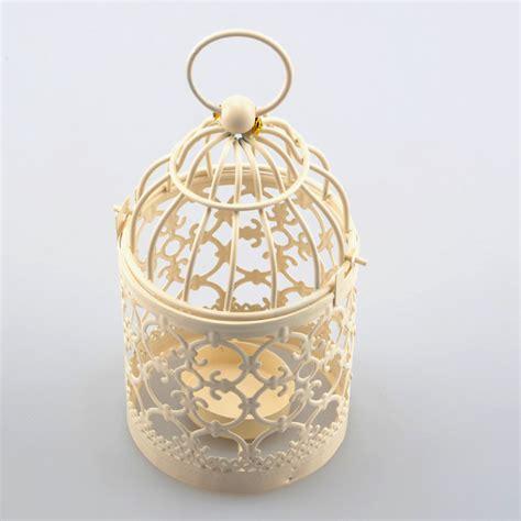 candle holders mini decorative metal bird cage
