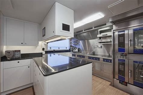 yacht galley layout rock it yacht galley photo by feadship fanclub yacht