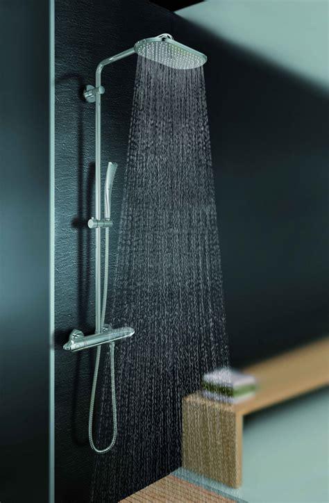 duschkopf groß regendusche duschkopf wasserverbrauch deckeneinbau