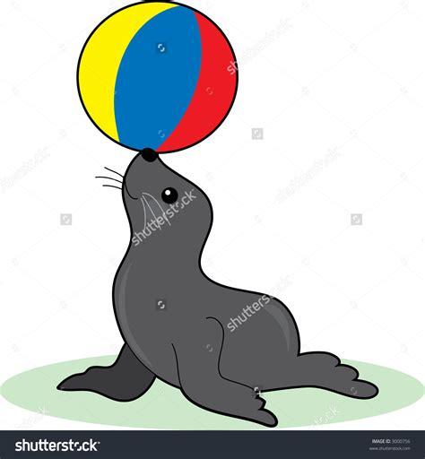 clipart seal circus seal clipart clip magic
