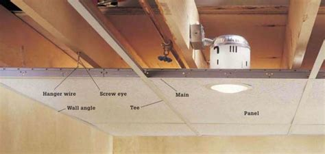 How To Install False Ceiling by How To Install A Suspended Ceiling Home Improvement And