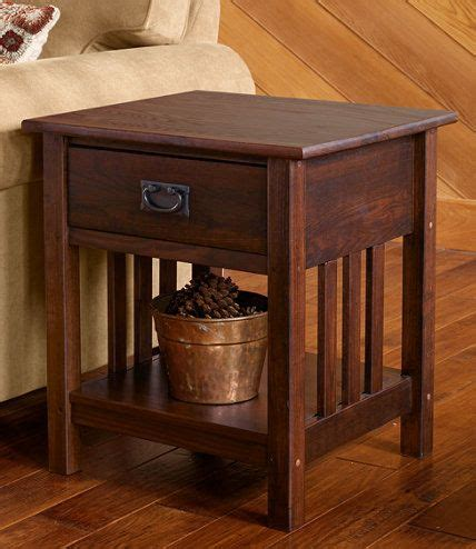 mission style nightstand plans woodworking projects