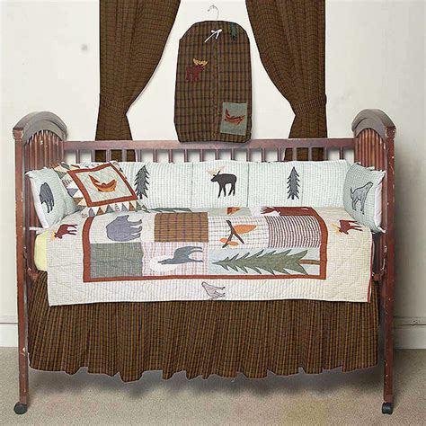 Cabin Crib Bedding Mountain Whisper Crib Bedding Sets Cabin Place