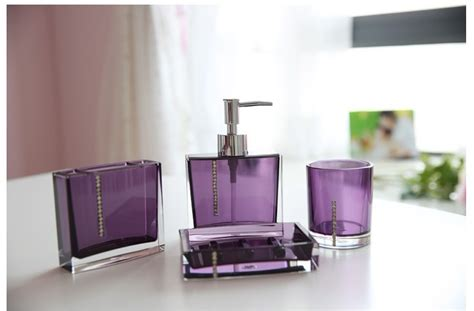 dark purple bathroom set bathroom accessories set sanitary set picture in bathroom