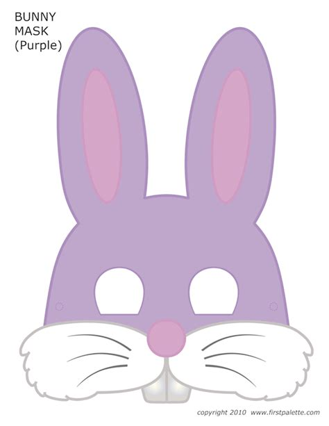 easter mask template easter printables
