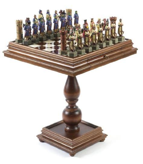 chess table amazon crusades chess set january 2012