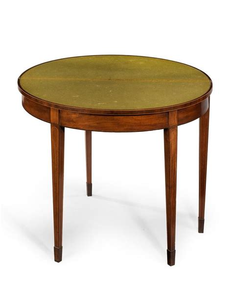 Card Tables For Sale by George Iii Period Mahogany Crossbanded Card Table For Sale At 1stdibs