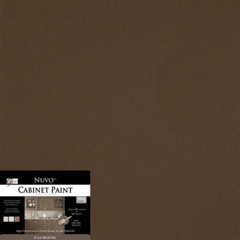 2 qt al a mocha cabinet paint kit fg nu mocha r the