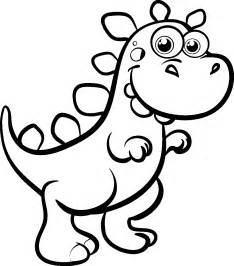 animal printable cute dinosaurs coloring pages coloring tone