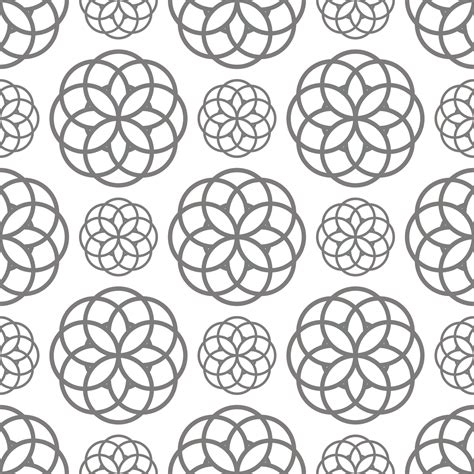geometric designs using circles geometric circles seamless pattern free stock photo