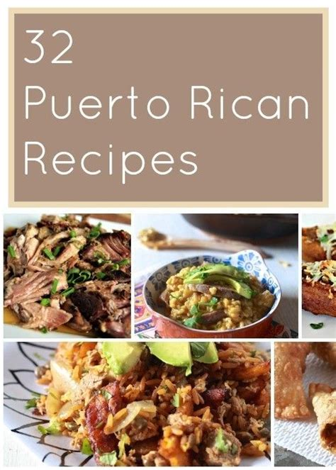 printable puerto rican recipes favorite puerto rican recipes wings soups and collage