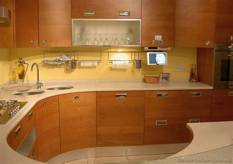 Kitchens With Wood Cabinets Pictures Of Kitchens Modern Medium Wood Kitchen Cabinets