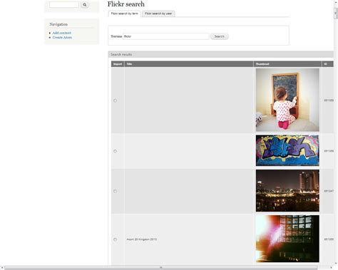 Flickr Search Scald Flickr Drupal Org
