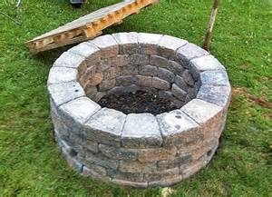 Step 6 light up the first fire and enjoy your very own fire pit