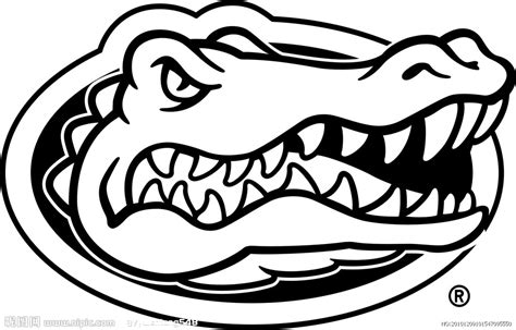 florida gators coloring pages printable florida best