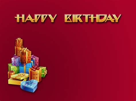 Birthday Presentation Backgrounds For Powerpoint Templates Ppt Backgrounds Birthday Powerpoint Presentation