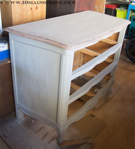 Relooker Une Table Basse by Relooking Raffin Pour Une Commode En Merisier Verni Des