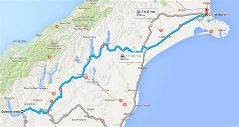 Drive Queenstown To Christchurch | how to drive from christchurch to queenstown little grey box