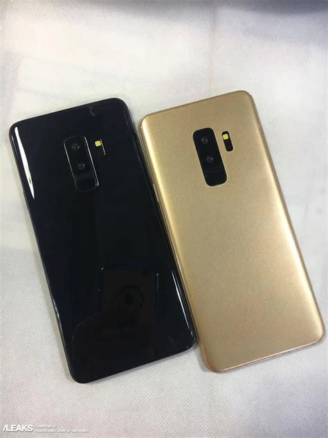 cornici digitali trovaprezzi samsung galaxy s9 ed s9 in colorazione black e gold in foto
