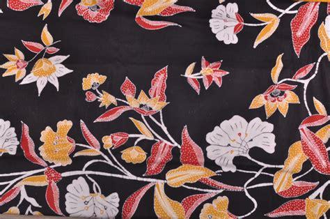 Hitam Motif Warna kain batik cirebon warna hitam dengan motif modern cocok