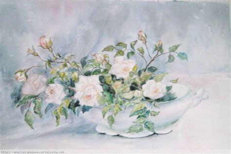 cuadros de rosas blancas rosas blancas amelia l 243 pez l 243 pez artelista